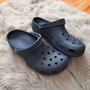 Crocs Mens Navy Blue Classic Look